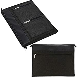 Amazon.com: Felt 13.3 Inch 14 Inch Laptop Sleeve Pouch ...