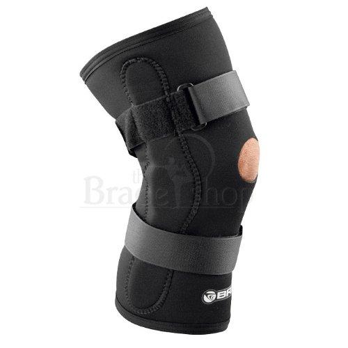 c0b6bf470b Amazon.com: Breg Economy Hinged Knee Brace (Large Wraparound Airmesh Open  Back): Health & Personal Care