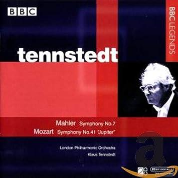 マーラー:交響曲第7番/モーツァルト:交響曲第41番「ジュピター」(ロンドン・フィル/テンシュテット)(1980, 1985)