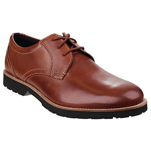 Rockport Herren Classic Zone Plaintoe Oxford Derby Cognac