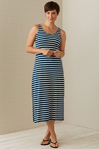 ebfa5adfc36 Fair Indigo Fair Trade Organic Maxi Tank Dress