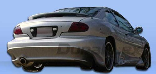Duraflex Replacement for 1995-2002 Pontiac Sunfire 2DR Millenium Wide Body Rear Bumper Cover - 1 Piece