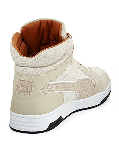 Slip Up X Uomo Made In Italy Mid Top In Pelle Di Vitello Alta 9