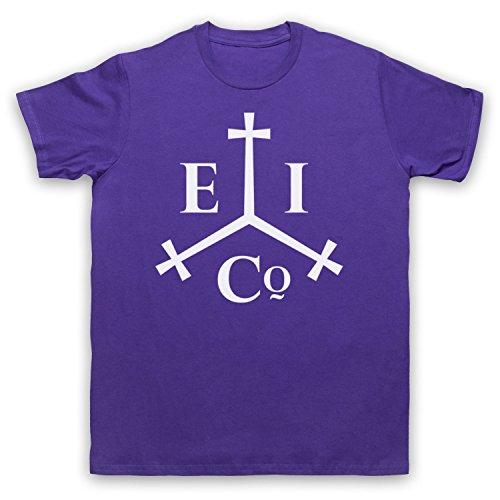 East India Company Logo Camiseta para Hombre Morado