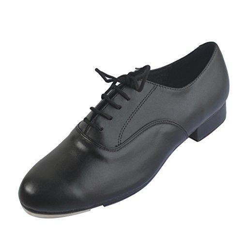 Jig Foo Men's Tap Shoes with 1' Heel