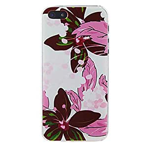 LIMME- Pink Flower Back Case for iPhone 4/4S