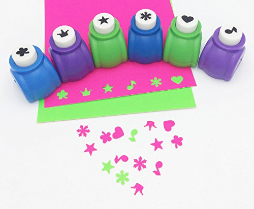 4 Mini Paper Punch - 1