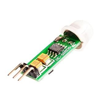 WINGONEER HC SR505 Mini Sensor Módulo Sensor de Cuerpo Mini Sensor de Cuerpo