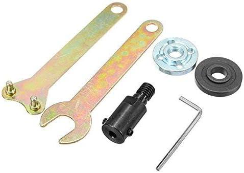 5mm V/ástago M10 Arbor Mandrel Adaptador Herramienta de corte AAccesorios para amoladora angular