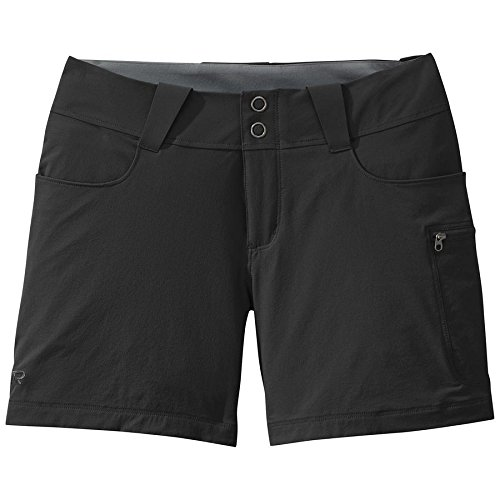 Outdoor Research Women's Ferrosi Summit Shorts, Black, 6 by Outdoor Research