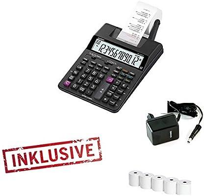 Casio HR 150 TEC - Calculadora (Impresora Incluye Fuente De ...