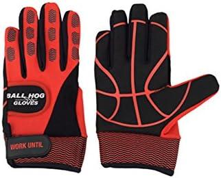 #6 Ball Hog Gloves (Weighted Anti Grip Ball Handling X-Factor (Basketball Training Aid)