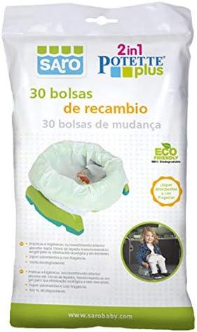 Saro 1051 - Bolsas de recambio para el orinal, unisex: Amazon.es: Bebé
