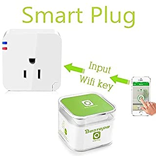 BESTOPE® For Us Wifi Smart Plug for Iphone Ipad Android Smartphone Plug Wireless Switch Smart Smart Plug Wifi Socket (B00L10Z2Z6) | Amazon price tracker / tracking, Amazon price history charts, Amazon price watches, Amazon price drop alerts