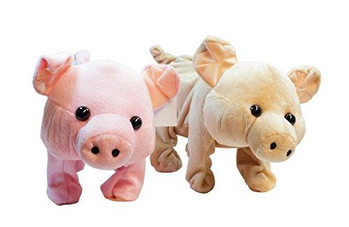 Pogo Pig (ToyStuffed Plush Toy (Pig Pink))