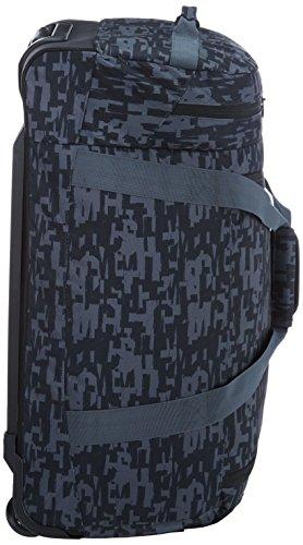 Chiemsee Rolling Duffle Reisetasche Typo Black eVM6kY