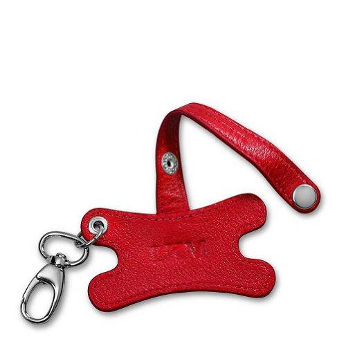 Levenger Earbud Holder Key Chain , Red (AL10475 RD NM)
