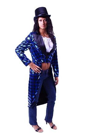 Traje para mujer en colour azul con diseño de traje de gala ...