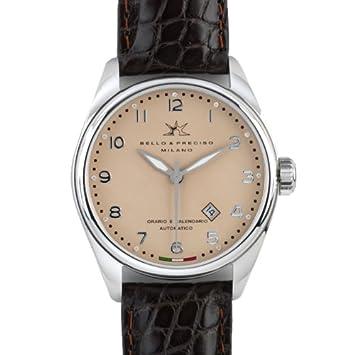Bello & Preciso italienische Herren-Armbanduhr Modell 43 Cipria
