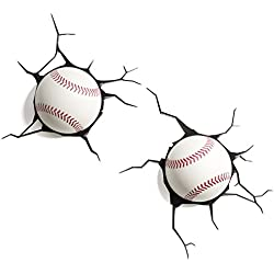 3DLightFX Sports Baseball 3D Deco Light