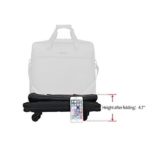 Hanke Expandable Foldable Suitcase Luggage Rolling Travel Bag Duffel Garment Tote Bag for Men Women by Hanke (Image #7)