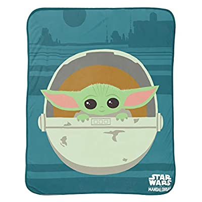 Jay Franco and Sons Silk Touch Throw Star Wars The Mandalorian The Cutest Bounty: Home & Kitchen