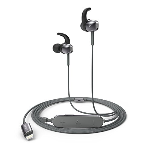 Anker SoundBuds Digital IE10 in-Ear Lightning Headphones with Sound Mode Adjustment - Earbuds with High Resolution Sound, MFi Certified, IPX5 Water...