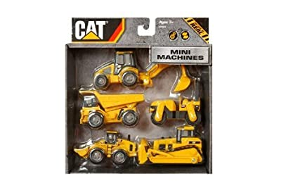 Toy State Caterpillar Construction Mini Machine