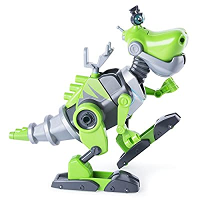RUSTY RIVETS - Botasaur Buildable Figure with Lights & Sounds for Ages 3 & Up: Toys & Games
