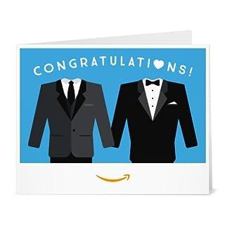 Amazon Gift Card - Print - Two Wedding Tuxedos (B01MY7S5JZ) | Amazon price tracker / tracking, Amazon price history charts, Amazon price watches, Amazon price drop alerts