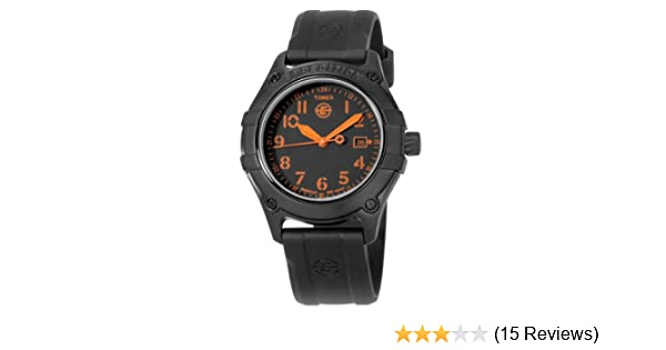 Amazon.com: Timex Mens T49698 Analog Stainless Steel Rubber Strap Expedition Watch: Timex: Watches