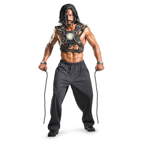 Whiplash Adult Costume Accessory - One (Iron Man 2 Whiplash Costume)