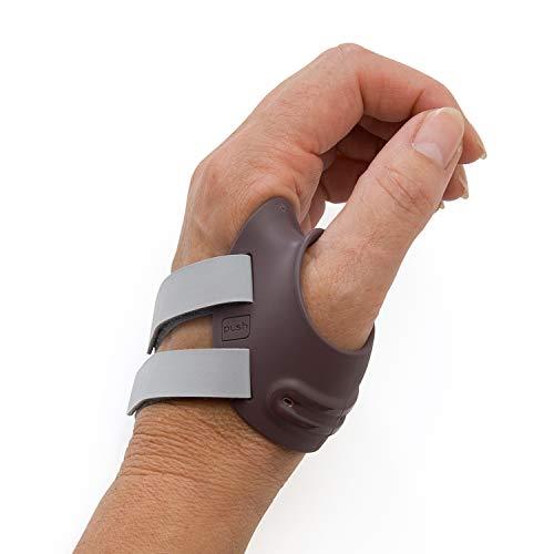 PUSH Ortho CMC - Soporte para pulgar izquierdo, mediano (tamaño 2), ideal para osteoartritis CMC-1, reduce el dolor, soporte postoperatorio, mejora la estabilidad CMC, inserto de metal contorneado, impermeable, antibacteriano
