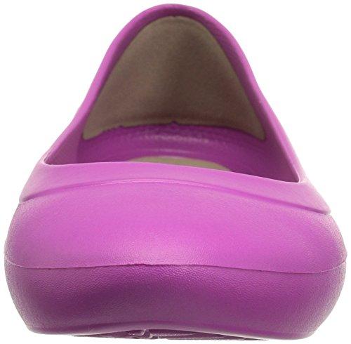 Crocs Damen Lina Ballet Flat Leuchtendes Violett