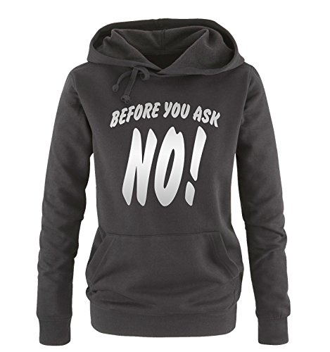 vari vari vari Siber ask Shirts Comedy Comedy Comedy taglia Schwarz NO colori sweater XL S Hoodie you Donna cappuccio Before 7RZ7qAa