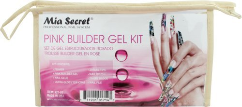 Mia Secret Pink Builder Gel Kit by Unknown