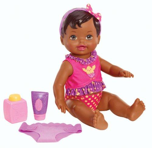 Little Mommy Diaper Duty African-American Doll