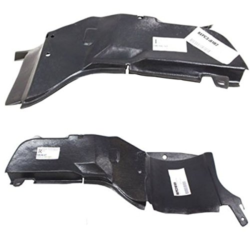 - Koolzap For 06-11 Chevy HHR Engine Splash Shield Under Cover Guard Right Left Side SET PAIR