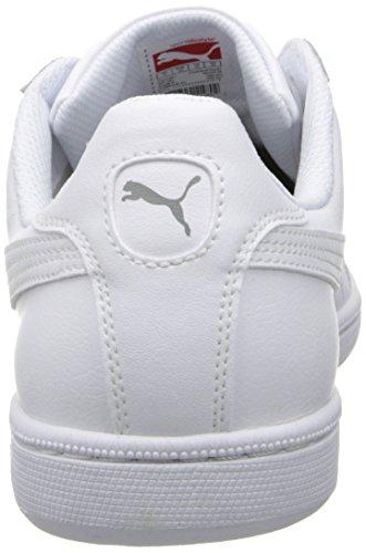 Puma rotura violenta de cuero clásico de la zapatilla de deporte White