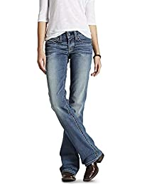 Women's R.e.a.l. Riding Mid Rise Boot Cut Jean
