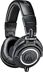 As the most critically acclaimed model in the M-Series line, the ATH-M50 is praised by top audio engineers and pro audio reviewers year after year. Now, the ATH-M50x professional studio monitor headphones feature the same coveted sonic signat...