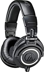 Audio-Technica ATH-M50x Professional Stu...