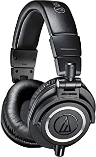 Audio-Technica ATH-M50x Professional Studio Monitor Headphones, Black (B00HVLUR86) | Amazon Products