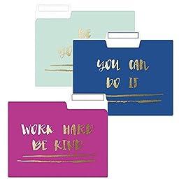 Be Yourself File Folder Set