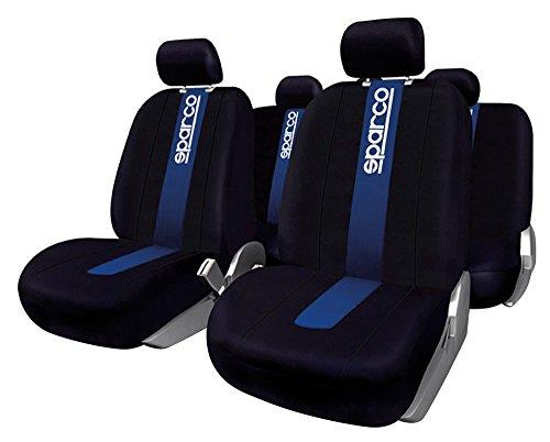 🥇 Sparco SPC1011 Juego de fundas para asientos de coche