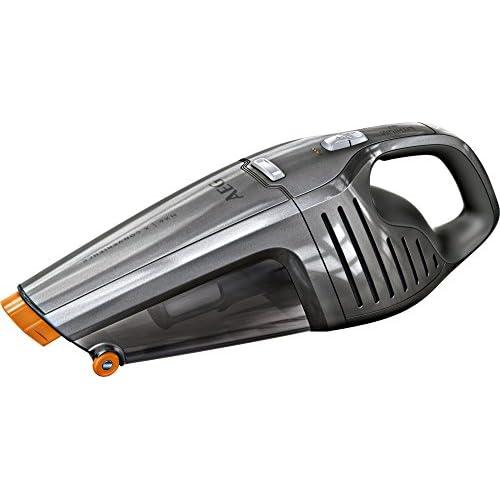 chollos oferta descuentos barato AEG HX6 35TM Aspiradora de Mano Sin Cable Sin Bolsa Cepillo Extensible XL hasta 35 Minutos 78dB de Ruido 2 Velocidades Ciclónica Depósito 0 5L Gris
