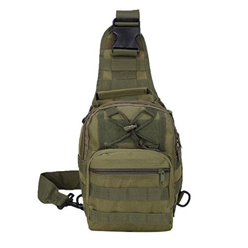 Herren Brusttasche Oxford Tuch Satchel Bag Freizeit Kleinen Rucksack Multicolor 06