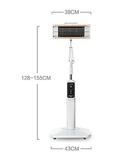 QQHealth 230W TDP Lejos Calor Lámpara Electromagnético Mineral Fisioterapia Ligero Toque Pantalla Hora Ajuste por Terapia, Acupuntura, Dolor: Amazon.es: ...