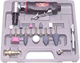 Canadian Tool and Supply 1/4-Inch Right Angle Air Die Grinder Kit with Comfort