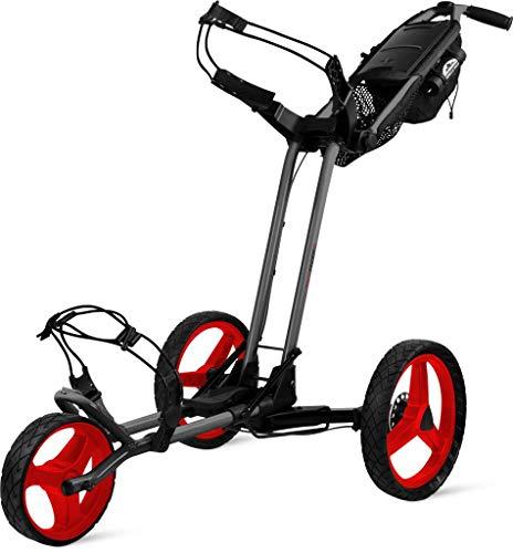 Sun Mountain Pathfinder 3 Golf Push Cart Magnetic Grey/Red